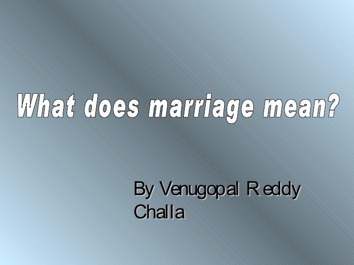 By Venugopal R eddyChalla