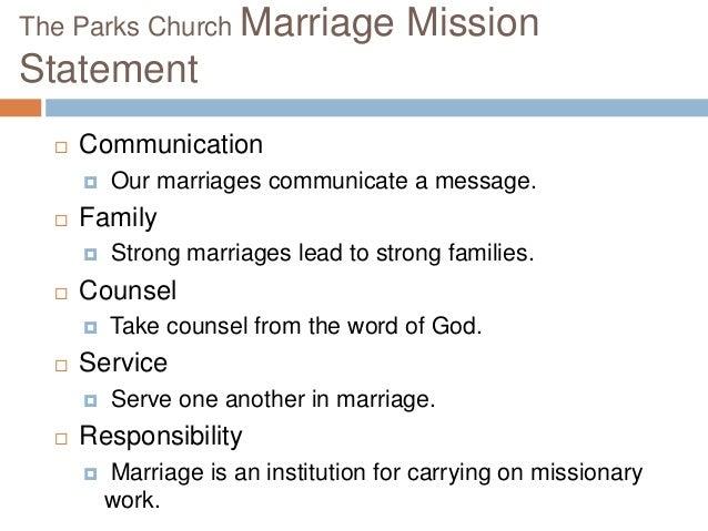 Marriage Mentor Program