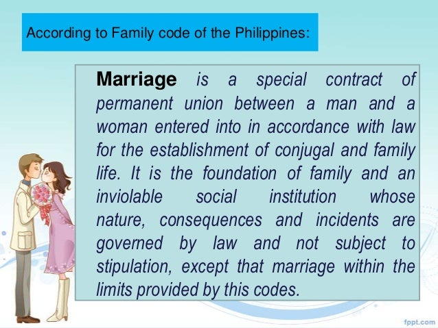 philippines marriage law