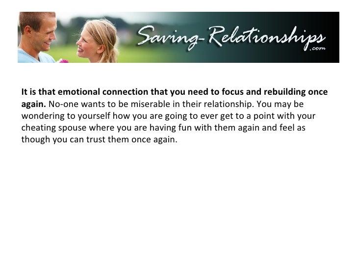 how do most emotional affairs end