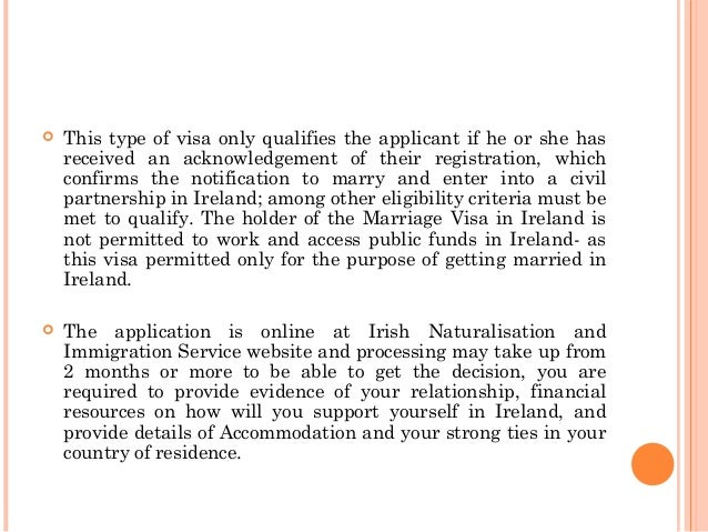 Tips On How To Apply For A Marriage Visa In Ireland