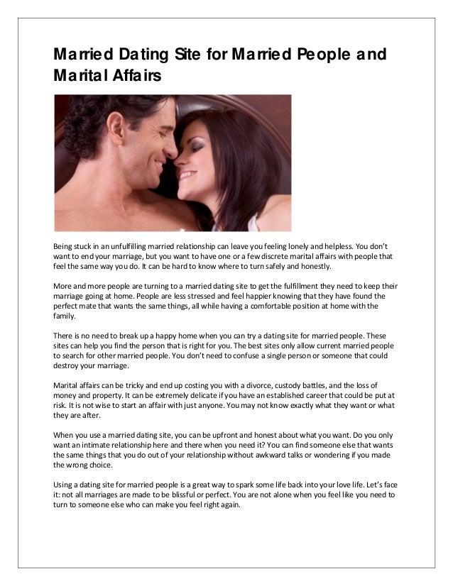 Best extramarital affair sites