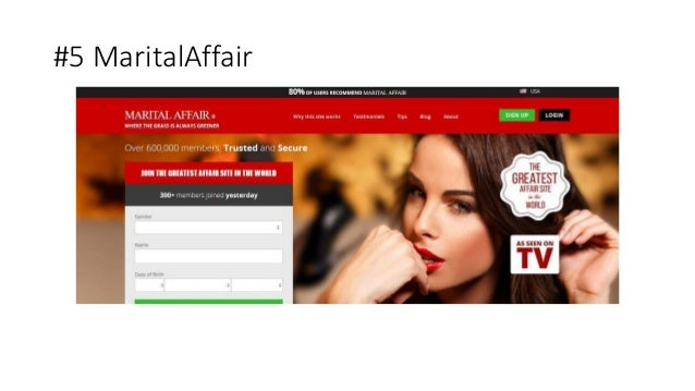 marital affair website review