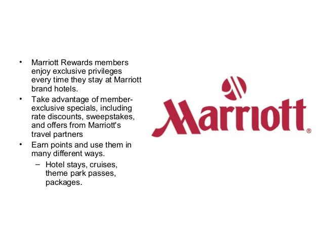 Marriot ppt