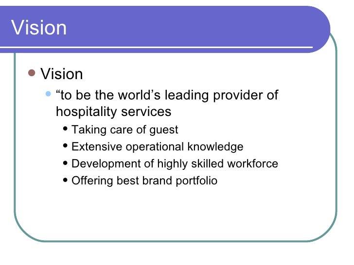 marriott vision statement