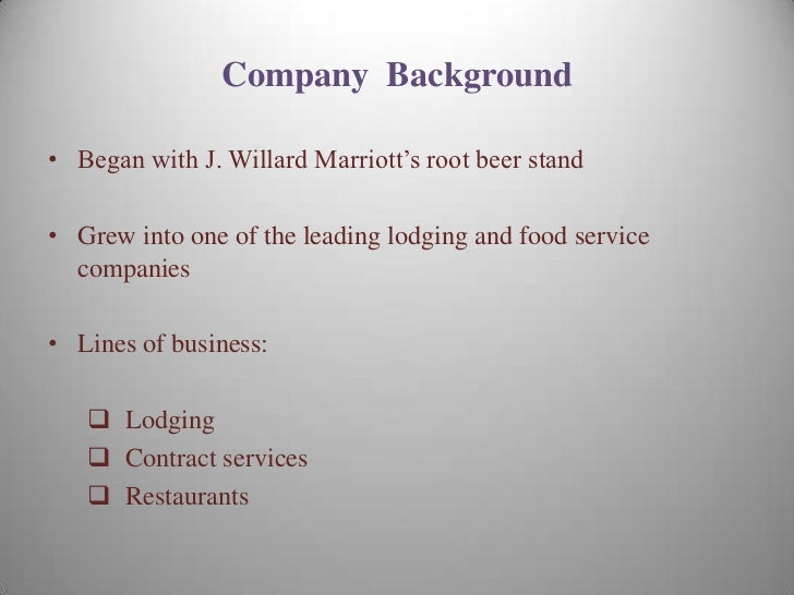 marriot corporation cost of capital The purpose of this memo is to estimate the weighted average cost of capital ( wacc) for marriott corporation and its three divisions, as well as explain the  logic.