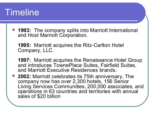 marriott corporation a The marriott corporation on radco roofing   the marriott hotels the marriott renaissance charlotte suites hotel and the marriott south park are known for their busy.