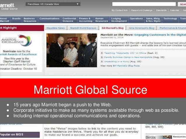marriott globalization Marriott international accomplishes food safety on a global scale with a training and inspection program that transcends language and cultural barriers.