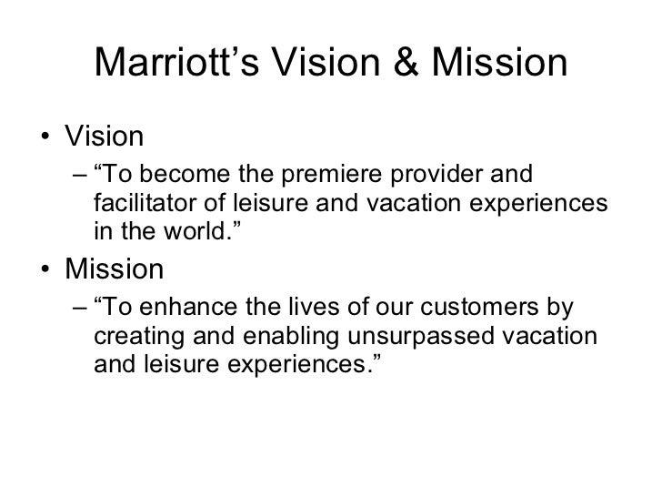 marriott organizational structure 2 marriotts vision - World Vision Organizational Structure