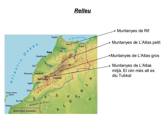 Hidrografia(mars)Hidrografia(mars)El Marroc limita amb un Oceà Atlàntic i un mar es diu Mediterrani
