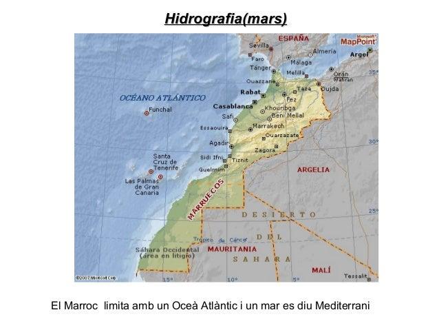 Hidrografia(rius)Hidrografia(rius)A Marroc hi ha molts rius