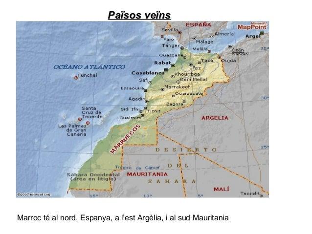 Relleu (regions, províncies, ciutats importantsRelleu (regions, províncies, ciutats importantsEl Marroc es divideix en 16 ...