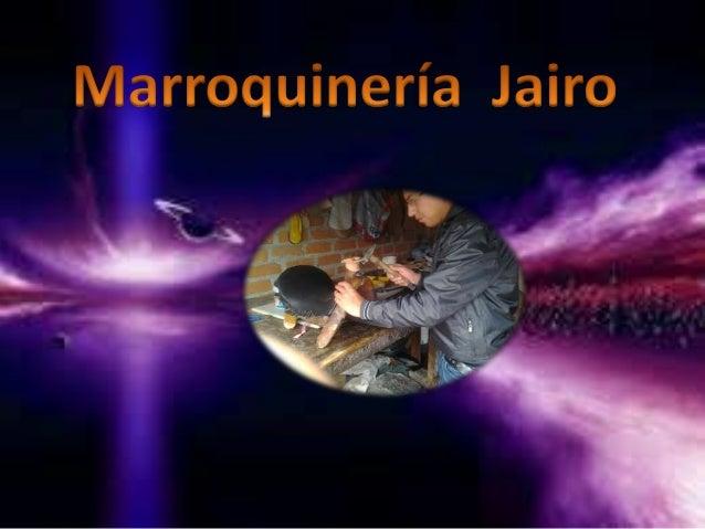 Marroquineria jairo
