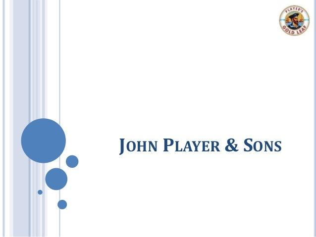 JOHN PLAYER & SONS