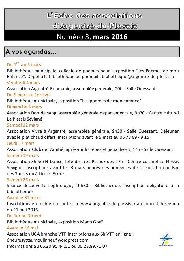 """Du 1er au 5 mars Bibliothèque municipale, collecte de poèmes pour l'exposition """"Les Poèmes de mon Enfance"""". Dépôt à la bib..."""