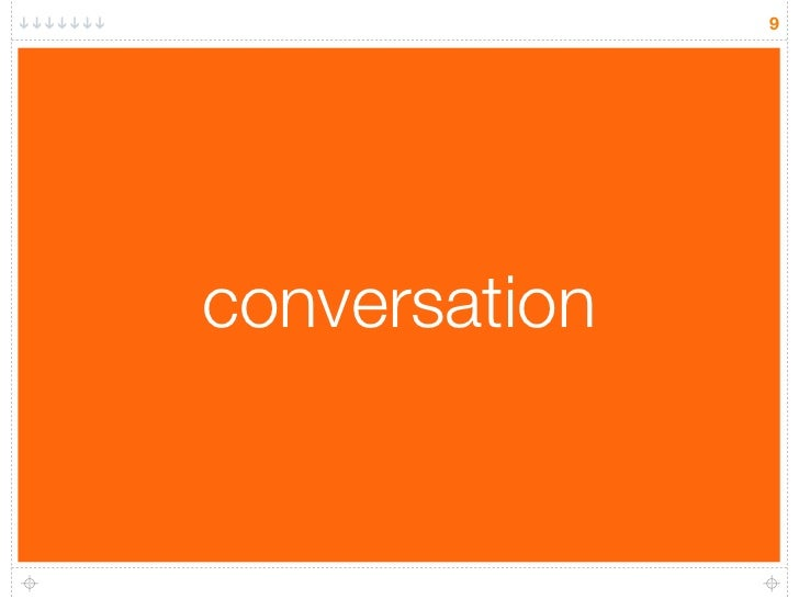 9     conversation