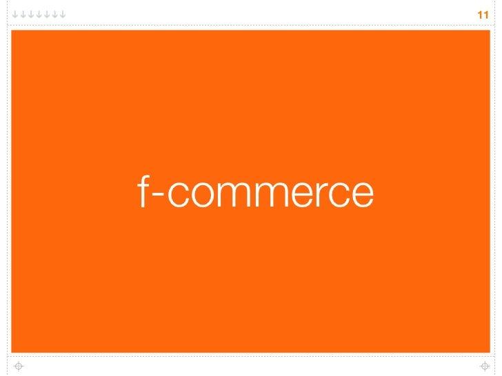 11     f-commerce