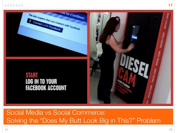 """17     Social Media vs Social Commerce: Solving the """"Does My Butt Look Big in This?"""" Problem"""