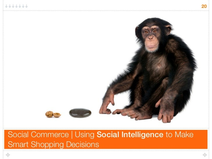 20     Social Commerce | Using Social Intelligence to Make Smart Shopping Decisions