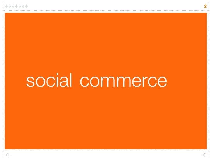 2     social commerce