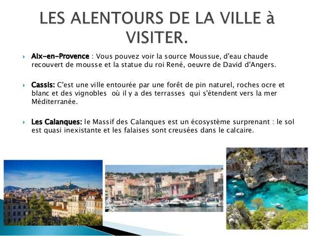  Aix-en-Provence : Vous pouvez voir la source Moussue, d'eau chaude recouvert de mousse et la statue du roi René, oeuvre ...