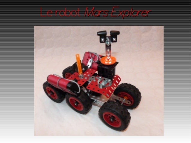 Le robot Mars Explorer