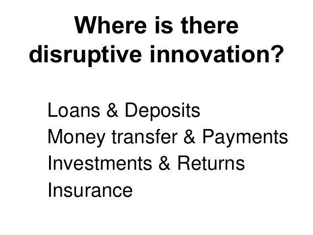 Creative Destruction of Finance