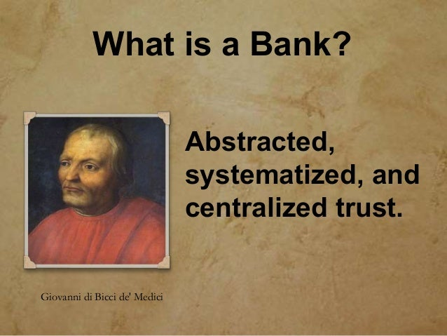 Capital is constrained Basic assumption of finance