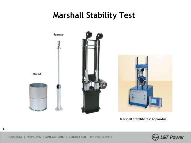 Marshall Mix Design: Lab Report - SlideShare
