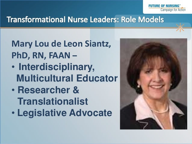 transformational leadership in nursing 2 nursing times leadership supplement  nurturing transformational clinical leaders are: provision and access to effective role models mechanisms for mentoring and.