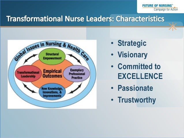 transformational leadership in nursing empower nurses essay Free essay: transformational leadership in today's healthcare system, effective   style with a focus on communication, motivation, and empowerment  and  nurse leaders can also help decrease communication barriers.