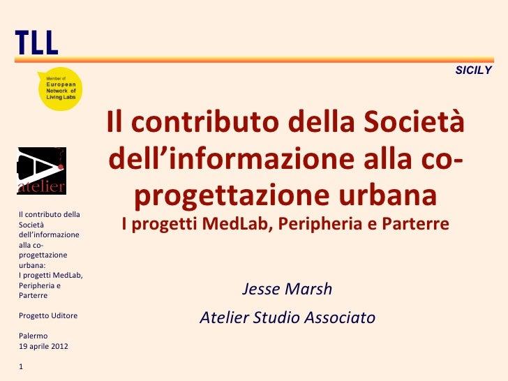 TLL                                                                  SICILY                      Il contributo della Socie...