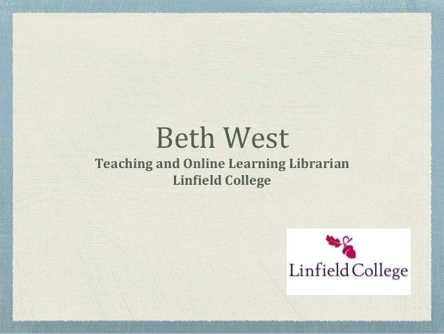 Bb Learn Linfield (Bblearn.linfield.edu) - Blackboard Learn