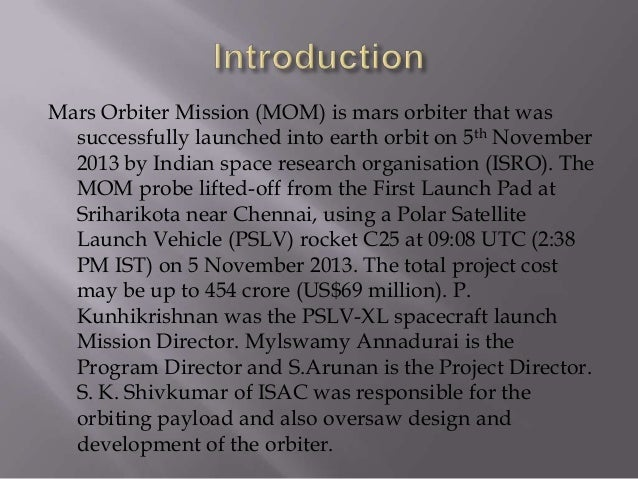 essay on mangalyaan