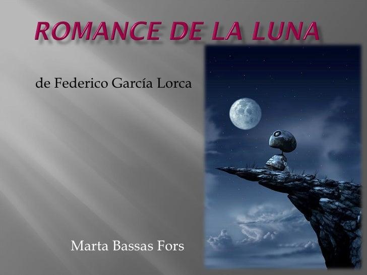 Marta Bassas Fors de Federico García Lorca