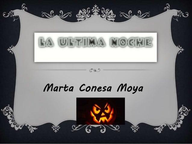 Marta Conesa Moya