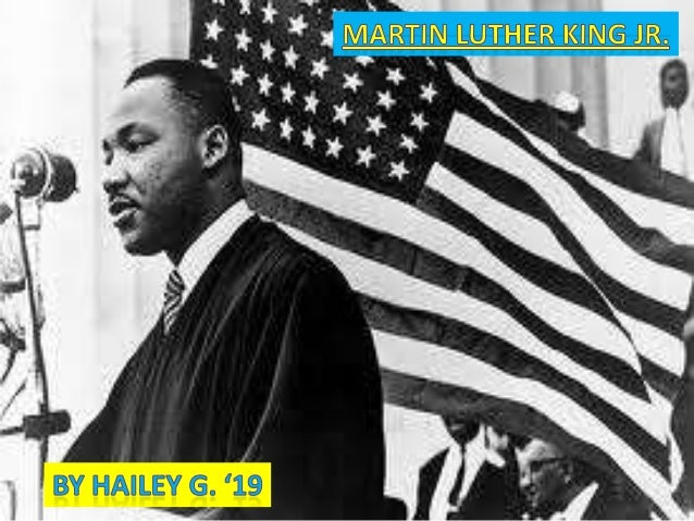 Birth and Education:                       Martin Luther King Jr. was born in Atlanta,                       Georgia on Ja...
