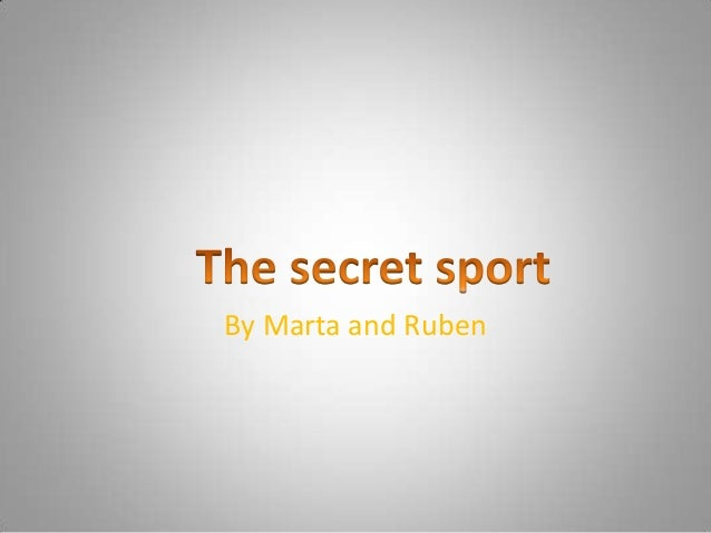 By Marta and Ruben