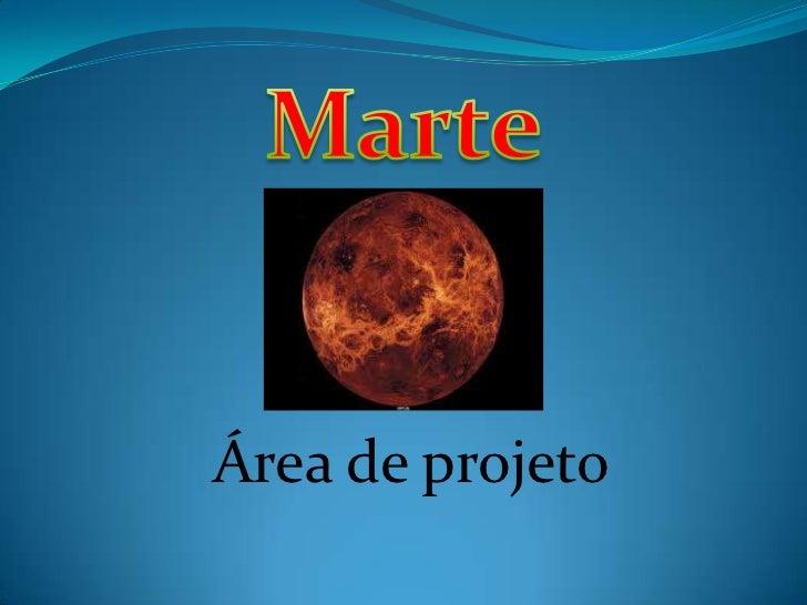 Área de projeto