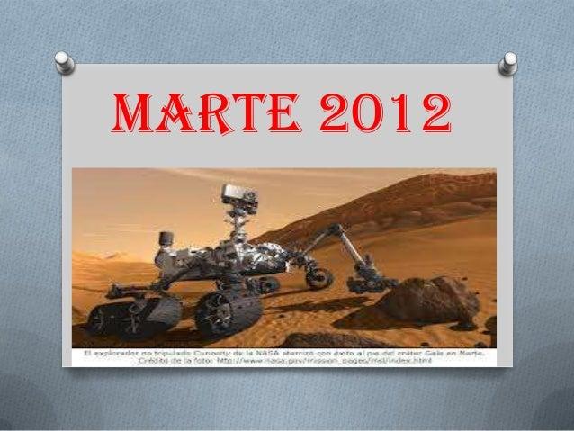 Marte 2012