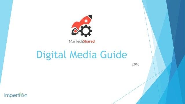 Digital Media Guide 2016