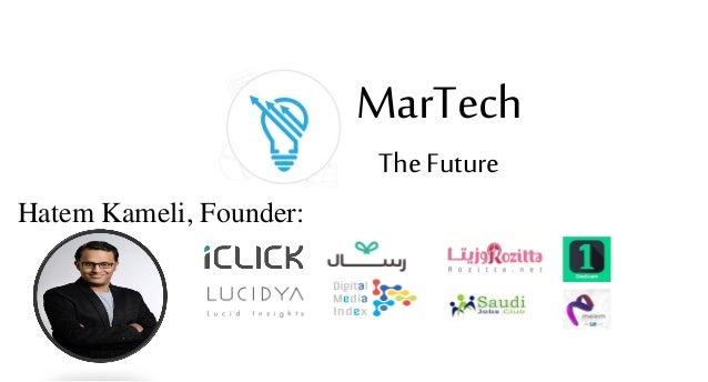 Hatem Kameli, Founder: MarTech The Future