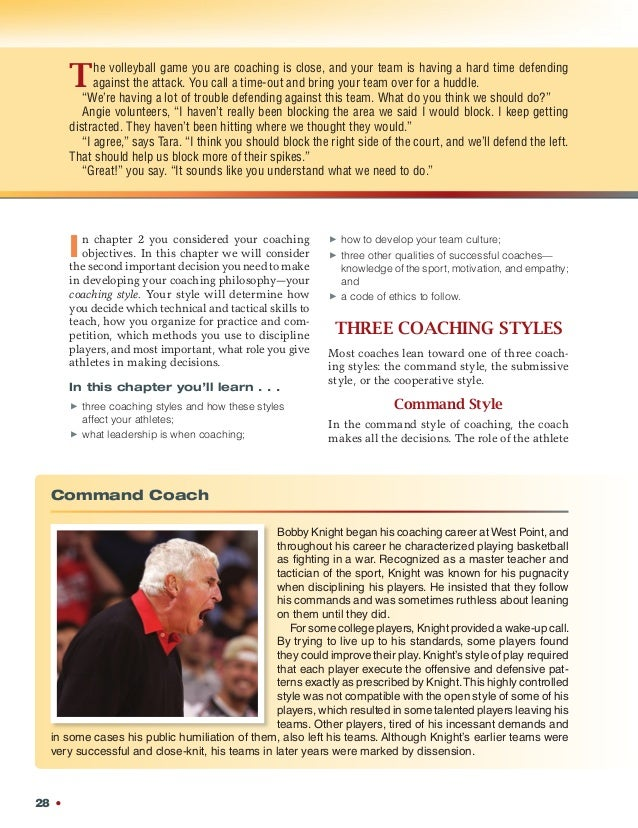 Martens sample chapter selecting your coaching style chapter 3 2 fandeluxe Choice Image