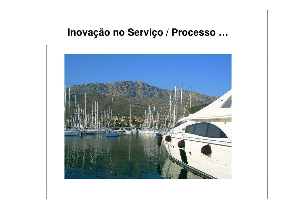 Inovação no Serviço / Processo …