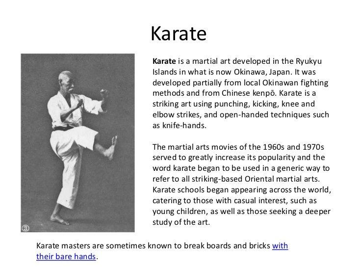 Martial arts karate toneelgroepblik Images