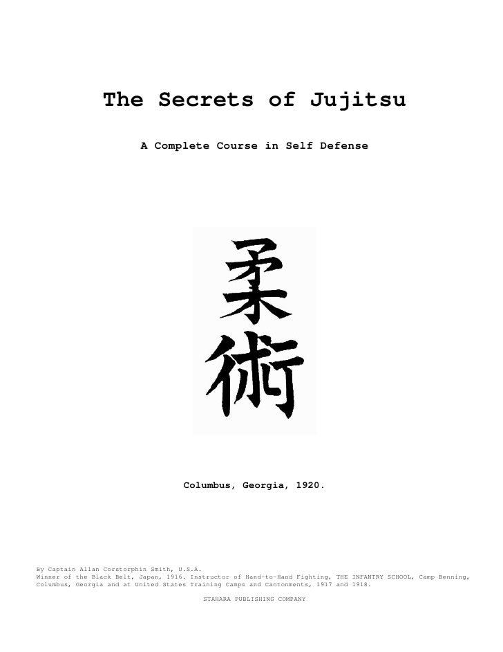 Martial arts   the secrets of jujitsu