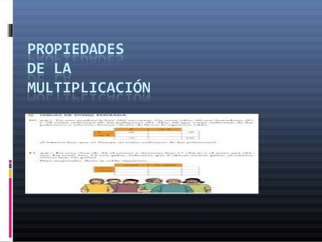 Propiedadconmutativa También llamada propiedad de orden de lamultiplicación. Esta propiedad significa quelos factores se ...