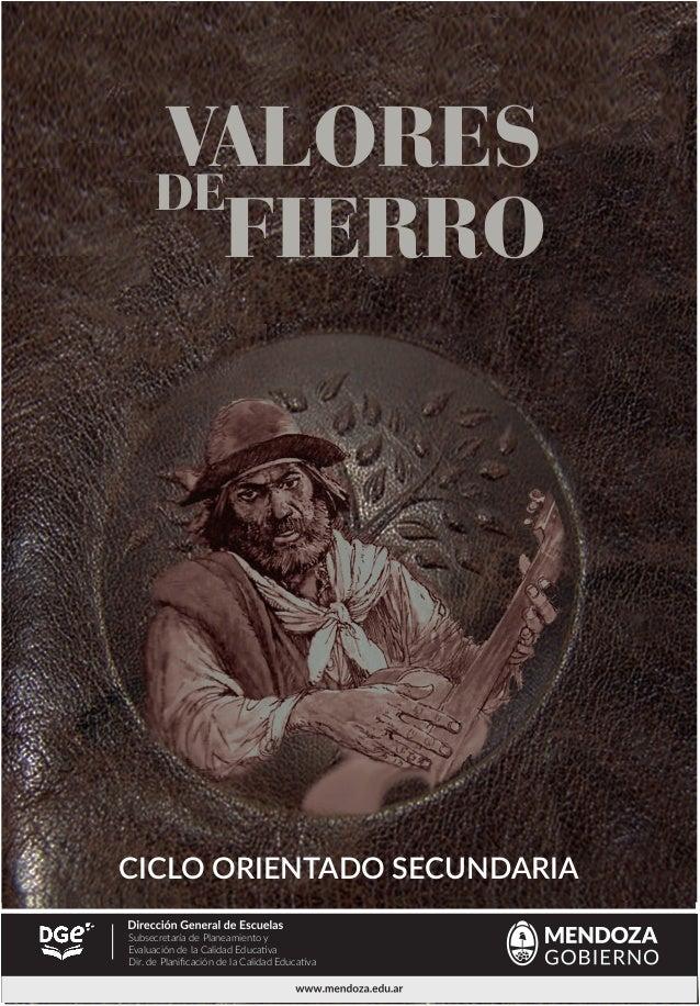 Martín Fierro Ciclo Orientado Secundaria