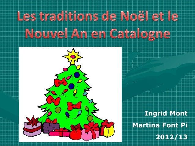 Ingrid MontMartina Font Pi      2012/13