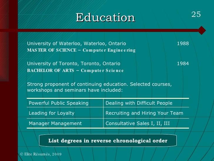 martin buckland rejuvenate your resume